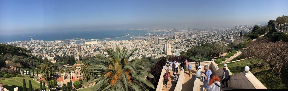 Panoramabild von Tel Aviv