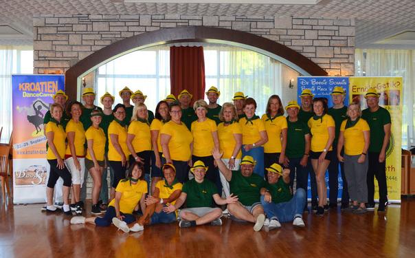 Gruppenfoto Teilnehmer Dance-Camp 2018