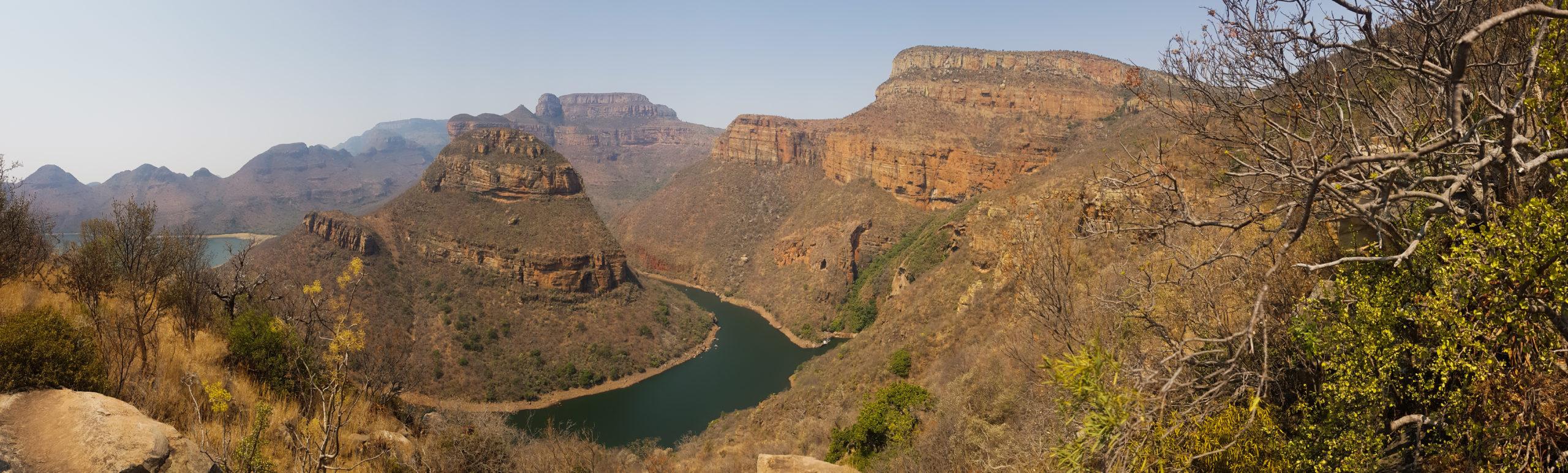 Blick auf den Fluss im Blyde Canyon